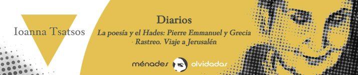 """""""Diarios"""", de Ioanna Tsatsos"""