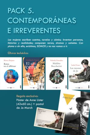 PACK 5. CONTEMPORÁNEAS E IRREVERENTES