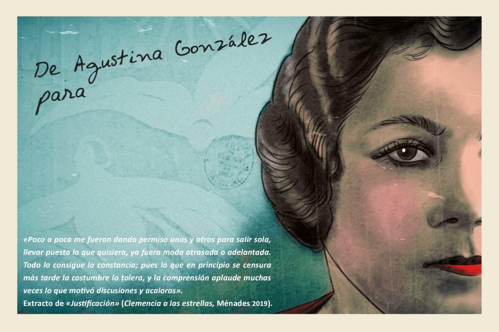 Postal Agustina González