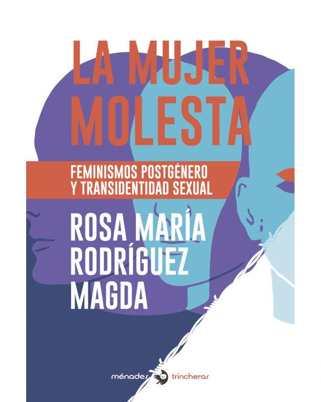 Portada La mujer molesta de María Rosa Rodríguez Magda