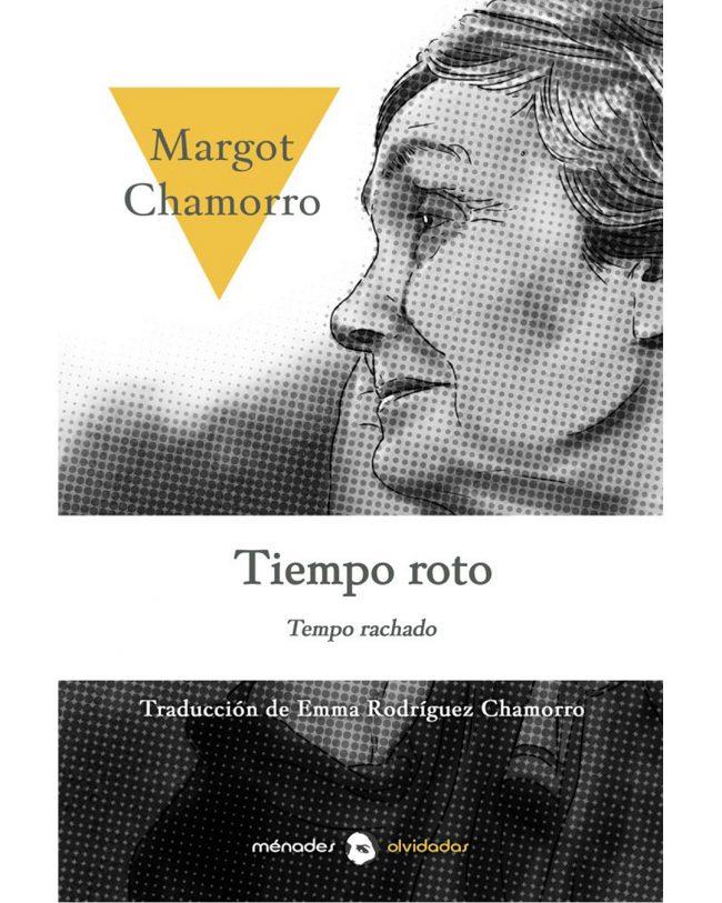 Portada Tiempo roto de Margot Chamorro