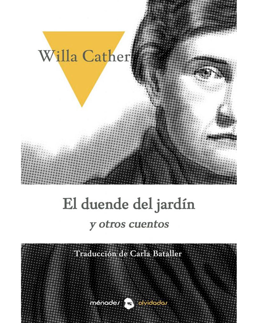 Portada El duende y el jardín de Willa Cather
