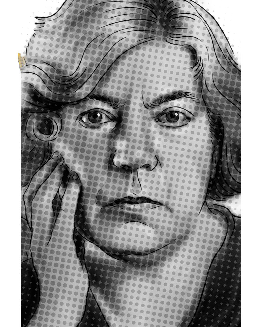 Retrato Grazia Deledda